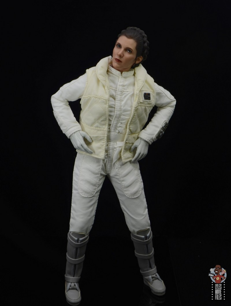 hot toys star wars hoth princess leia figure review -irritated