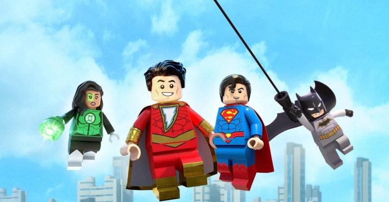 lego dc shazam magic and monsters review - jessica cruz, shazam, superman and batman
