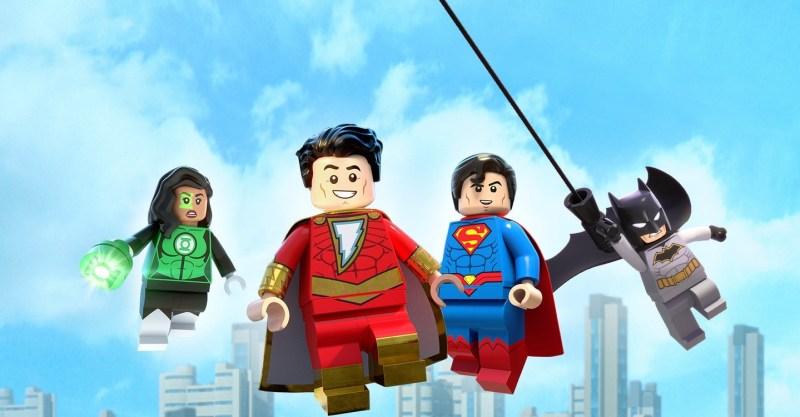 lego dc shazam magic and monsters review - jessica cruz, shazam, superman and batman