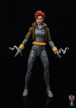 marvel legends black widow wal-mart exclusive figure review - smoking stingers