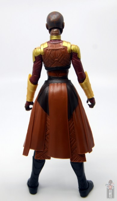 marvel legends build a figure okoye figure review -rear