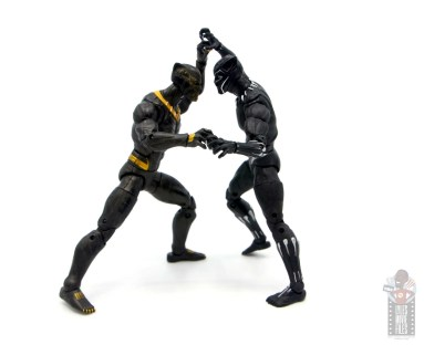 marvel legends erik killmonger figure review - facing off with black panther