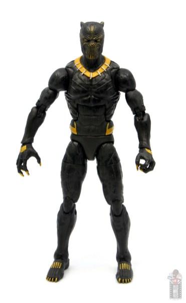 marvel legends erik killmonger figure review - front