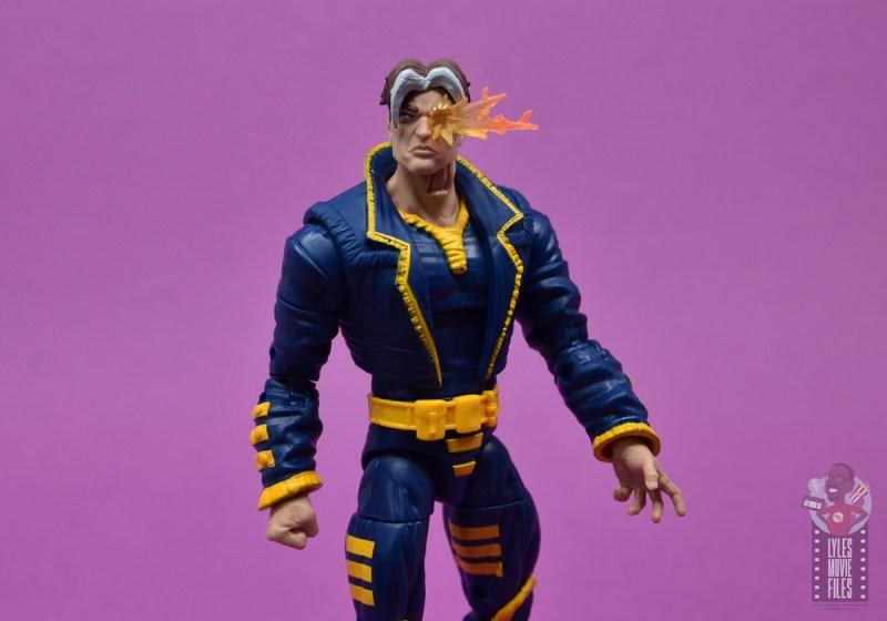 marvel legends x-man figure review - paint detail