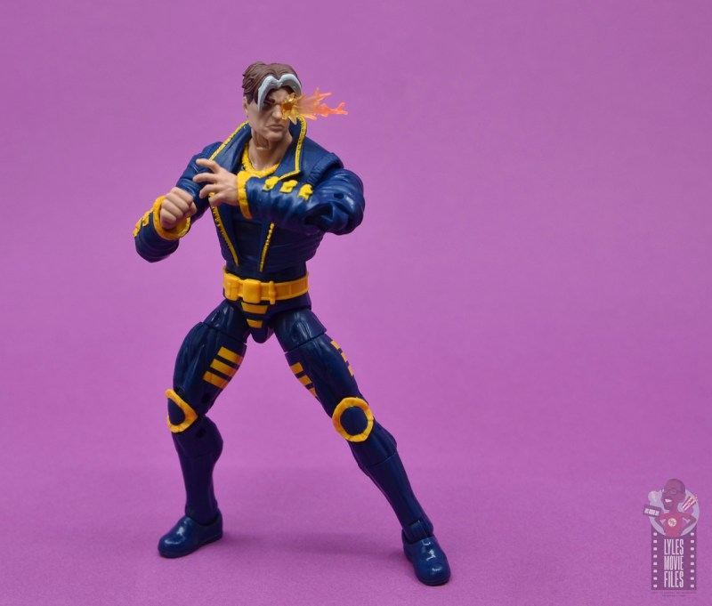 marvel legends x-man figure review - turning