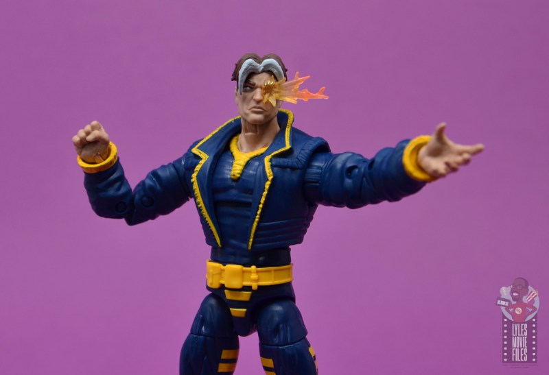 marvel legends x-man figure review - wide pic