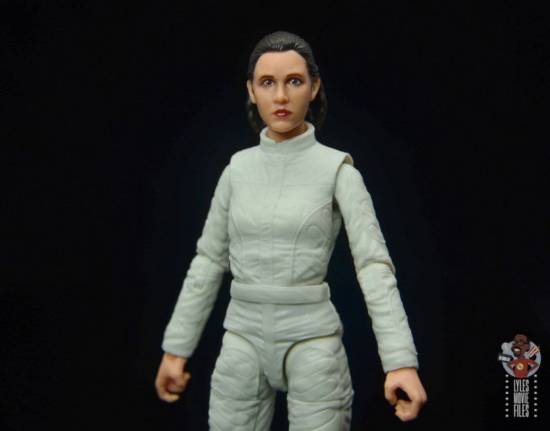 star wars the black series princess leia bespin escape figure review -wide shot