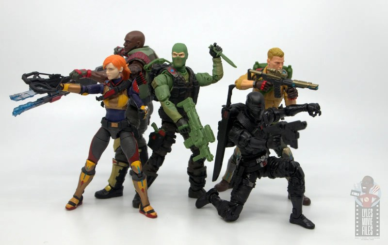 GI Joe Classified Series Beach Head figure review - joes ready for action