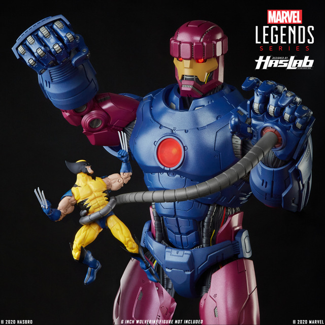 HASLAB MARVEL LEGENDS SERIES X-MEN MARVEL'S SENTINEL Figure (6)