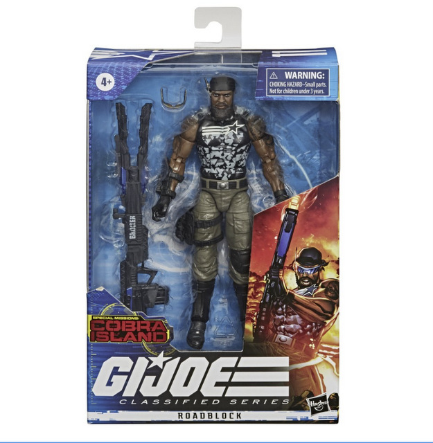 Hasbro G.I. Joe Classified Series Cobra Island Target Exclusives - roadblock package