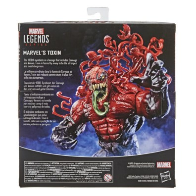 MARVEL LEGENDS SERIES 6-INCH-SCALE MARVEL'S TOXIN Figure - in pck (2)