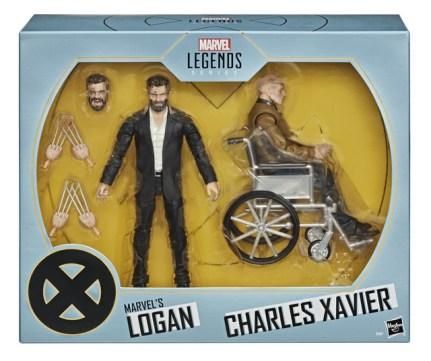 Marvel Legends Series 6-Inch X-Men Marvel's Logan & Charles Xavier Figure 2-Pack - in pck