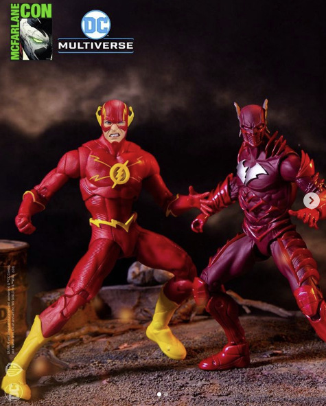 McFarlane Toys flash vs the red death
