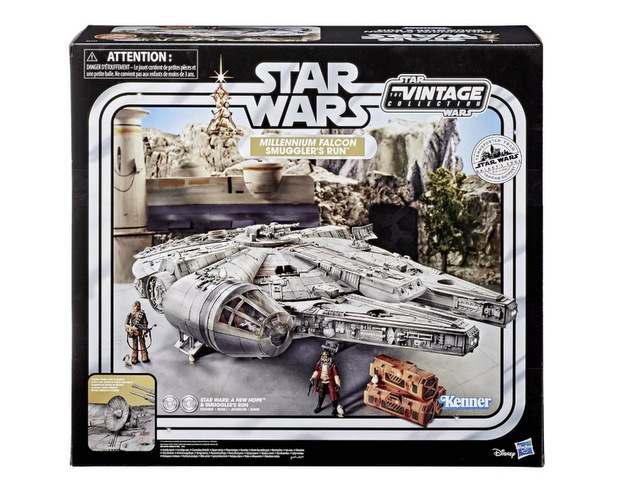 Star Wars The Vintage Collection Galaxy's Edge Millennium Falcon Smuggler's Run Target - package