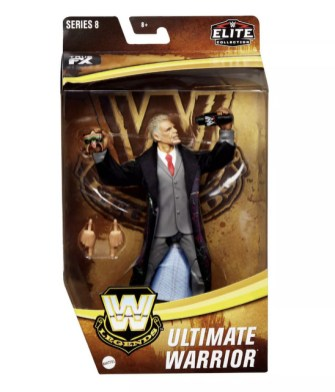 WWE Legends Elite Collection Ultimate Warrior Action Figure Target - package front