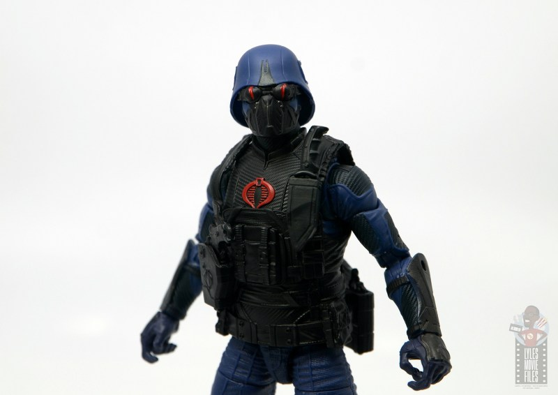 gi joe classified cobra trooper figure review -goggles down
