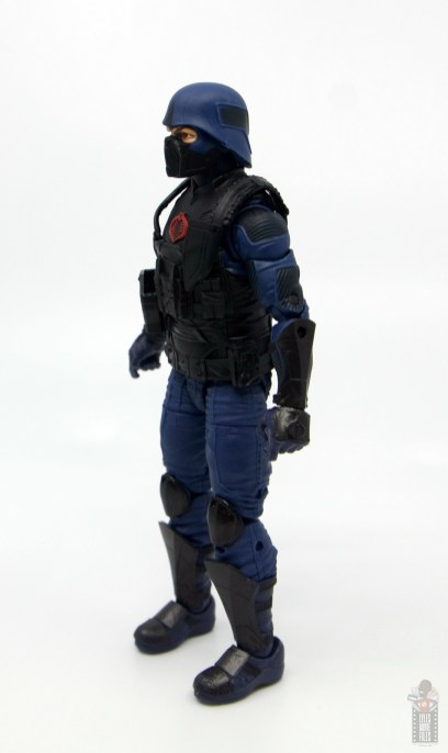 gi joe classified cobra trooper figure review - left side