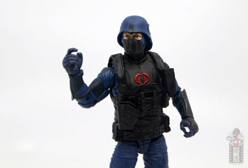 gi joe classified cobra trooper figure review - raising fist