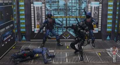 gi joe classified cobra trooper figure review - vs snake eyes 3