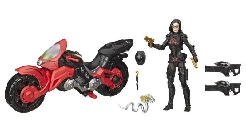 gi joe classified series cobra island - baroness with motorcycle