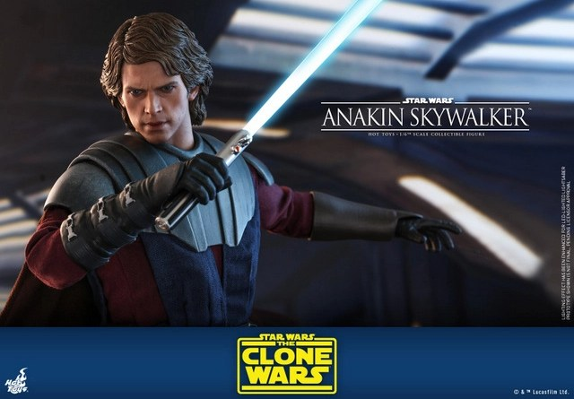 hot toys anakin skywalker clone wars figure -wide pic