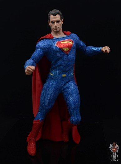 hot toys justice league superman figure review - about to take flight