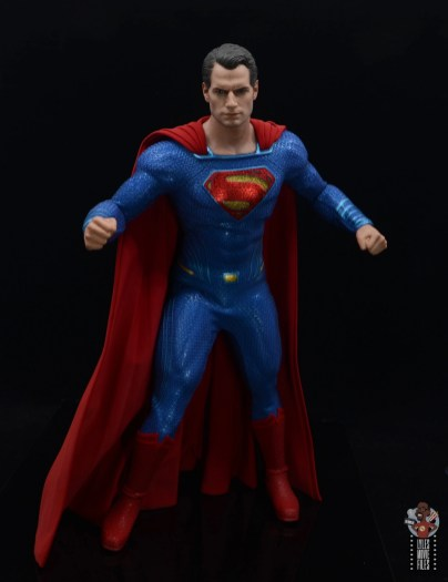 hot toys justice league superman figure review -about to take off