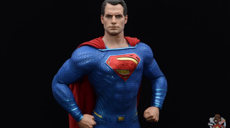 hot toys justice league superman figure review - main pic