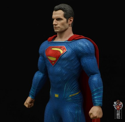 hot toys justice league superman figure review - uniform left side