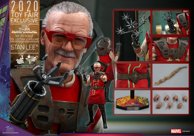 hot toys thor ragnarok stan lee figure - collage