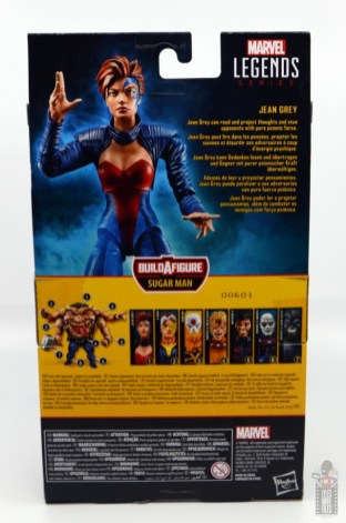 marvel legends age of apocalypse jean grey figure review - package rear