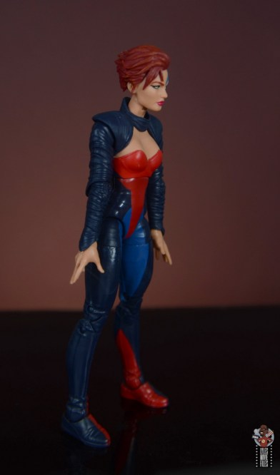 marvel legends age of apocalypse jean grey figure review - right side