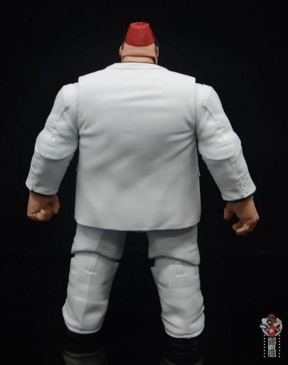 marvel legends build-a-figure shadow king figure review - rear