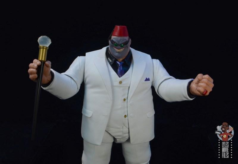 marvel legends build-a-figure shadow king figure review - wide shot
