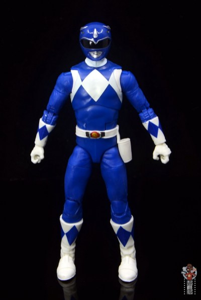 power rangers lightning collection blue ranger figure review - front
