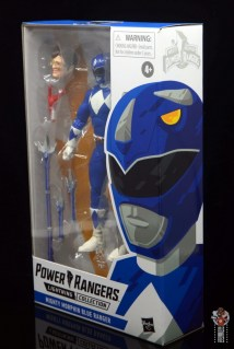 power rangers lightning collection blue ranger figure review -package diagonol