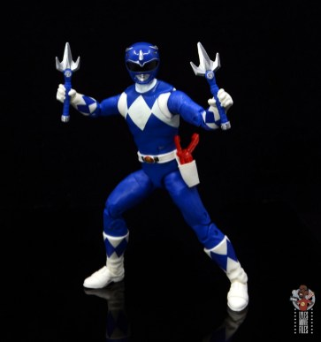 power rangers lightning collection blue ranger figure review - ready for battle