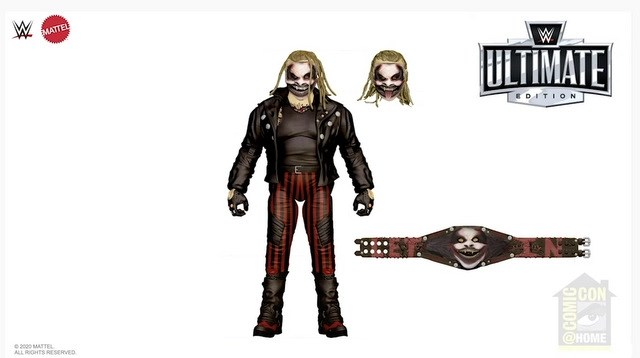 sdcc 2020 wwe - ultimate the fiend