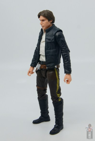 star wars the black series han solo figure review -left side