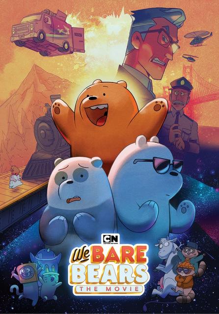 we bare bears dvd cover