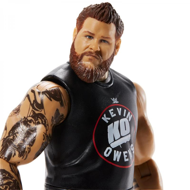 wwe basic series 111 - kevin owens close up