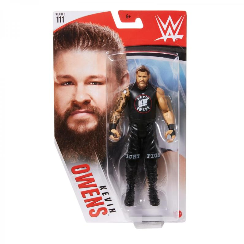 wwe basic series 111 - kevin owens front package