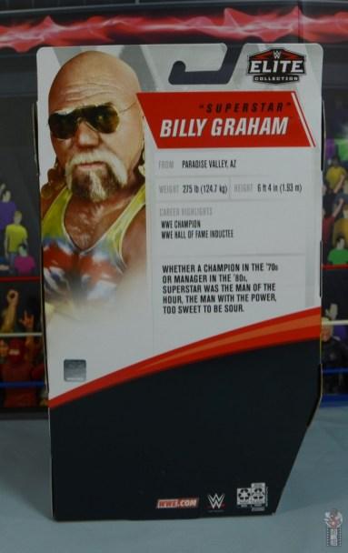 wwe elite 78 superstar billy graham figure review - package rear