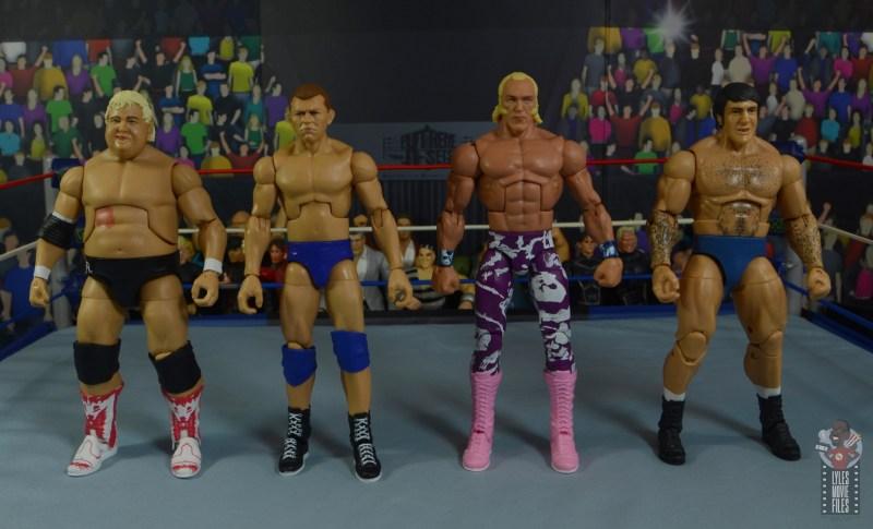 wwe elite 78 superstar billy graham figure review - scale with dusty rhodes, bob backlund and bruno sammartino