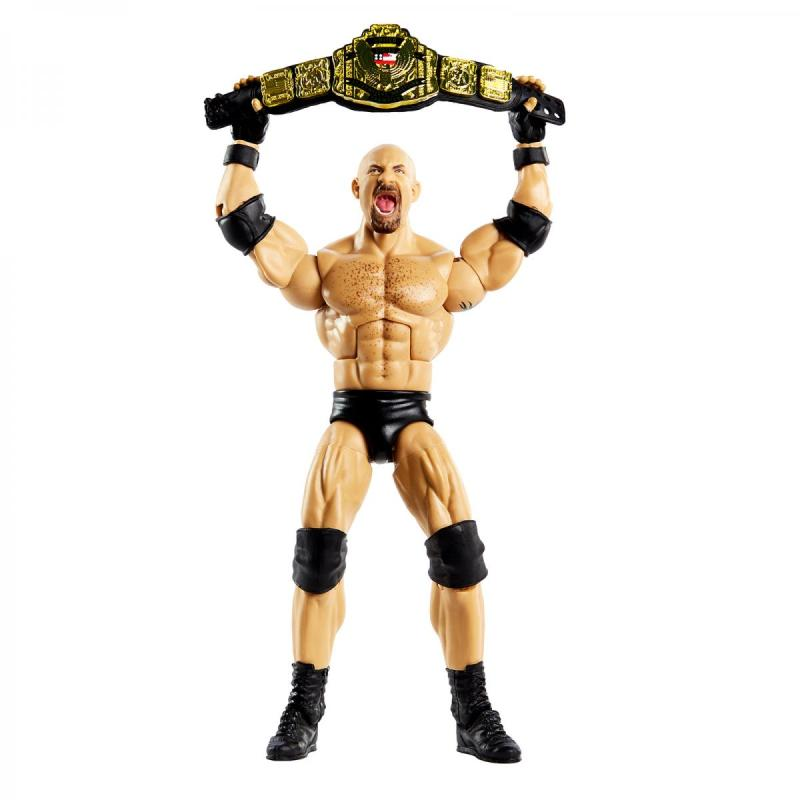 wwe elite bret hart vs goldberg set -goldberg with us title
