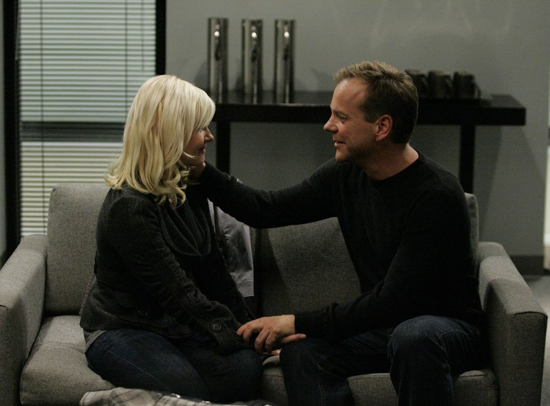 24 season 7 review - kim and jack bauer