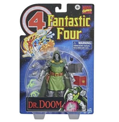 Fantastic Four Marvel Legends Series 6-Inch Doctor Doom figure -package front