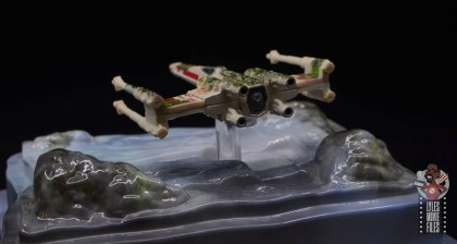 Hot Wheels The Empire Strikes Back X-Wing Dagobah swamp review - rear diagonal