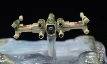 Hot Wheels The Empire Strikes Back X-Wing Dagobah swamp review - rear