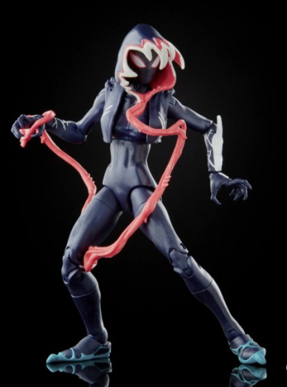 Marvel Legends Series Venom Ghost-Spider – turning